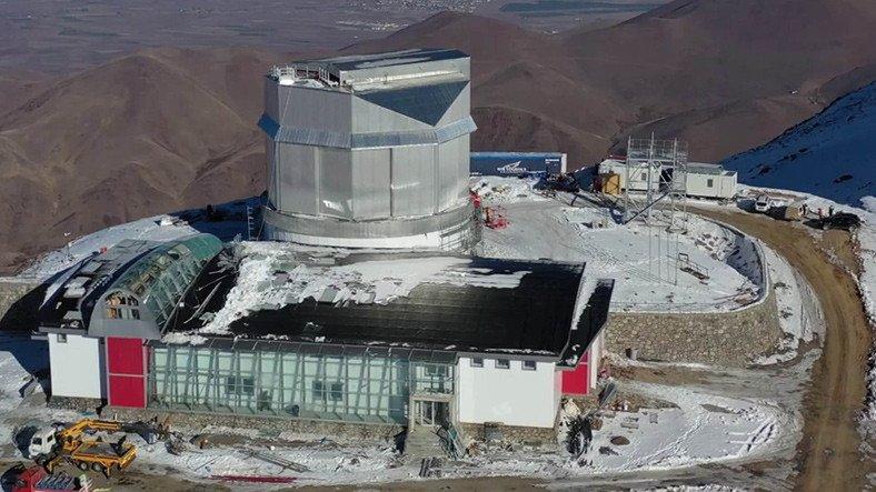 Türkiye'nin En Büyük Optik ve Kızılötesi Teleskobu, 2022'de Faaliyetlerine Başlayacak