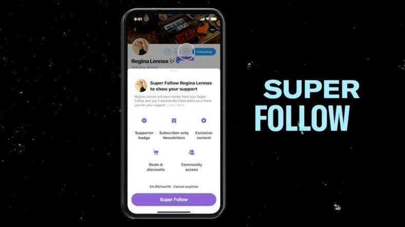 """Twitter, Kullanıcıların İçerik Üreticilere Ücretli Abone Olabilecekleri """"Süper Takip"""" Özelliğini Duyurdu"""