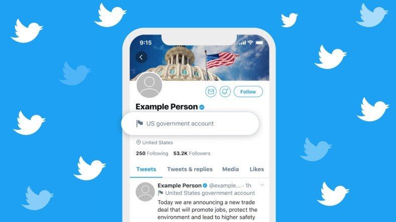 Twitter, Türkiye'deki Devlet Yetkililerin Hesaplarını Etiketleyecek