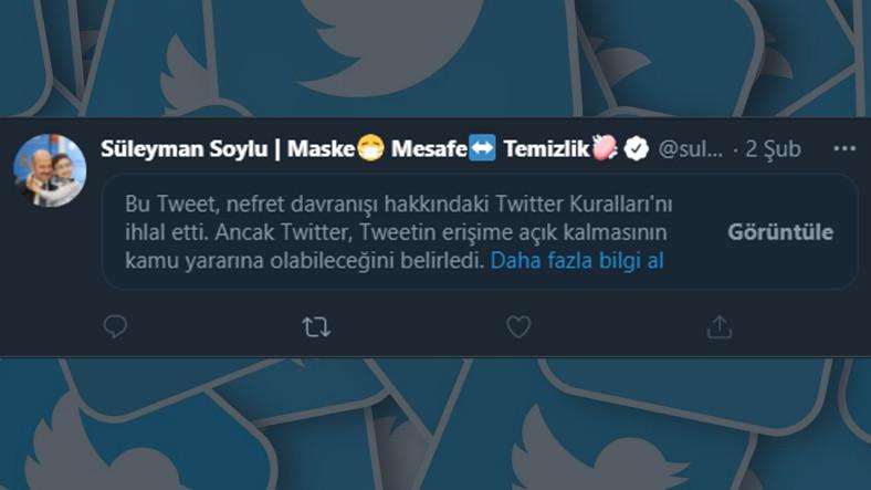 Ulaştırma Bakanı Karaismailoğlu, Soylu'nun Paylaşımlarını Kısıtlayan Twitter'a Ağır Yüklendi