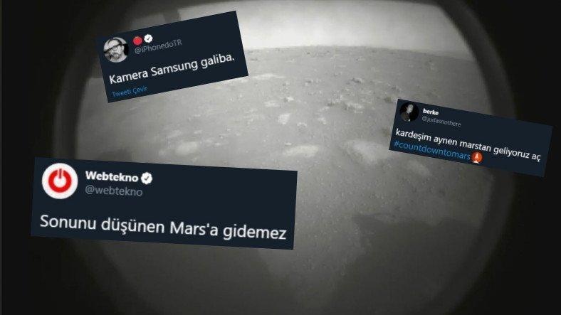 Uzay Aracı Perseverance'ın Mars'a İnmesi Şerefine Twitter'dan Gelen En Komik Paylaşımlar