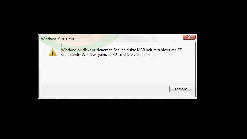 Windows 10'daki 'Bu Diske Yüklenemez' Hatası Nasıl Çözülür?