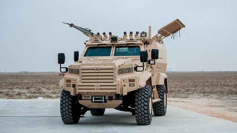 Zırhlı Araç Ejder Yalçın'a Havan Aracı Konfigürasyonu Entegre Edildi