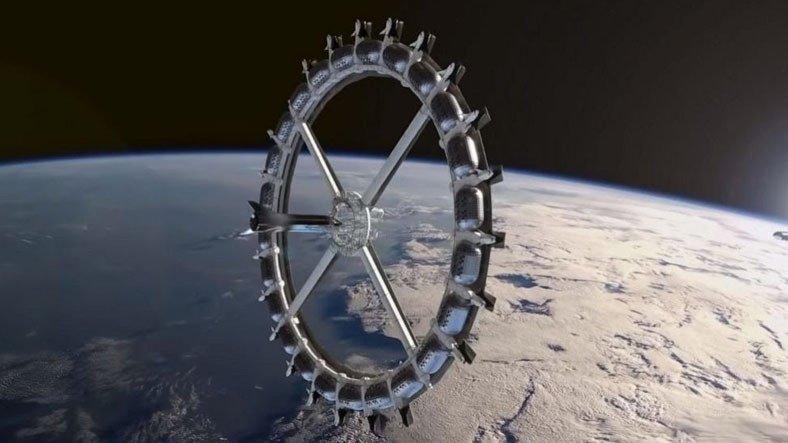 2027 Yılında Açılacak İlk Uzay Otelinin 3 Günlük Konaklama Ücreti Açıklandı
