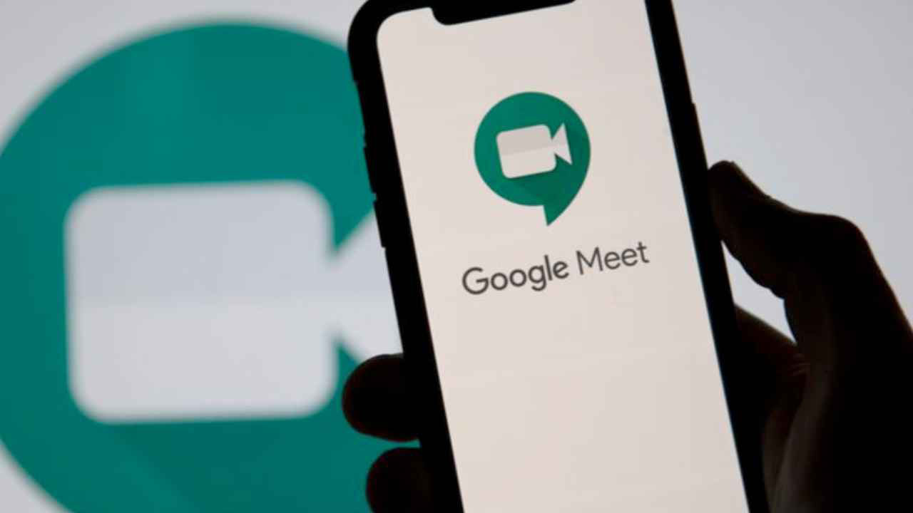 Google Meet Mobil