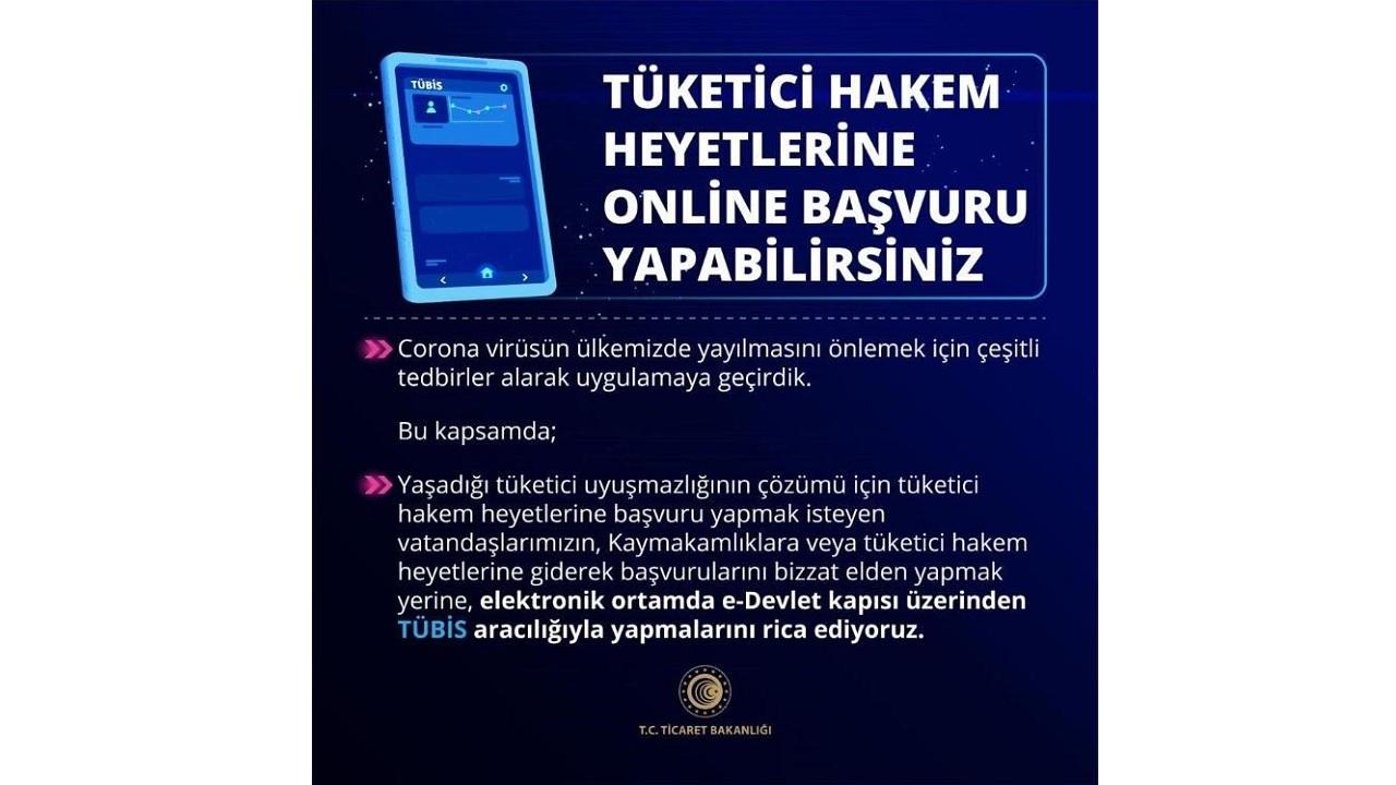 Tüketici Hakem Heyeti online başvuru