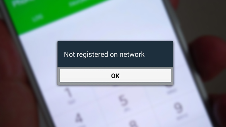 samsung ağda kayıtlı değil hatası