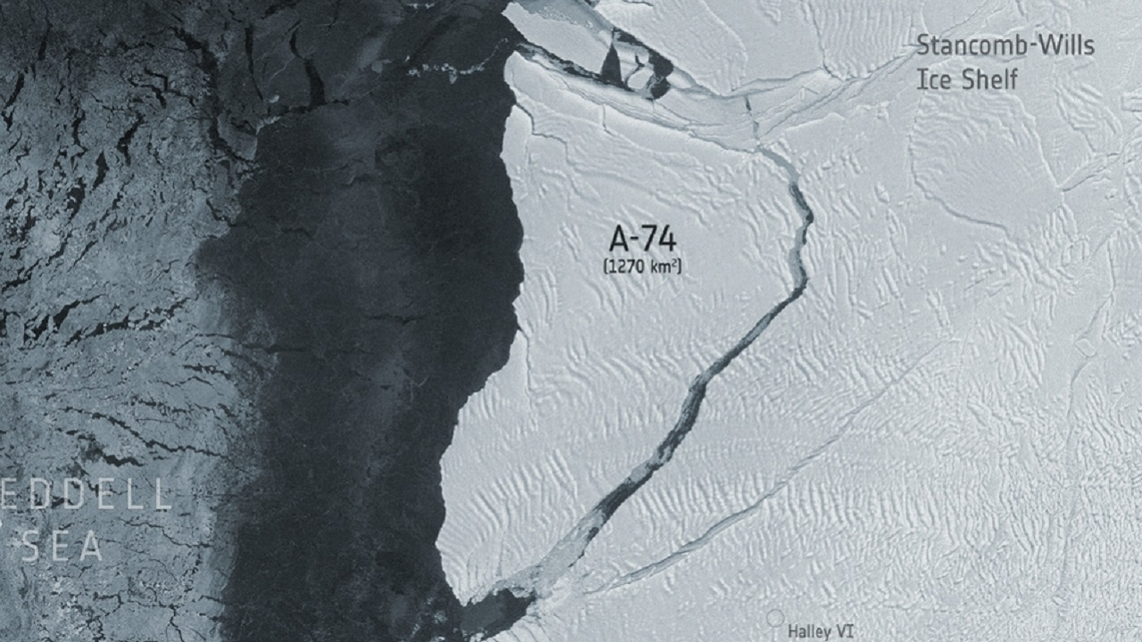 A-74 buz dağı