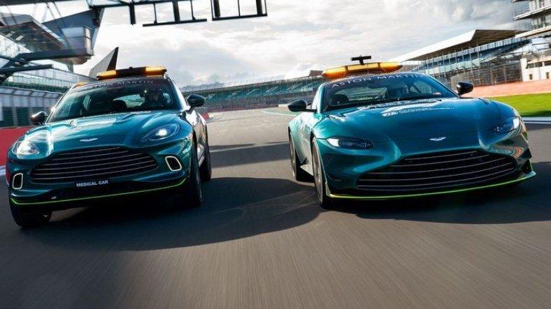 Aston Martin, 'Sık Sık Piste Çıksa da Görsek' Dedirtecek Karizmaya Sahip F1 Güvenlik Aracını Duyurdu