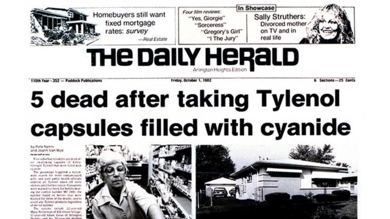 tylenol cinayetleri