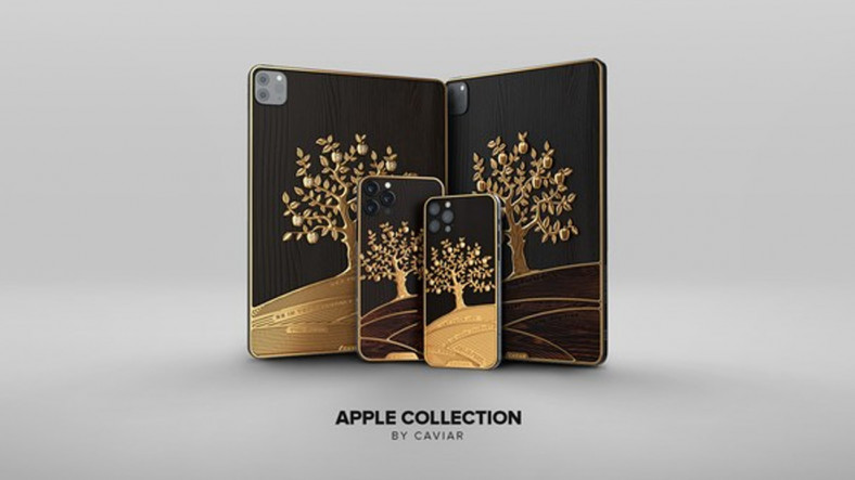 Caviar, 1 Milyon TL'yi Aşan Fiyatıyla Dudak Uçuklatan 'Elma Ağacı' Temalı iPad Pro'yu Tanıttı