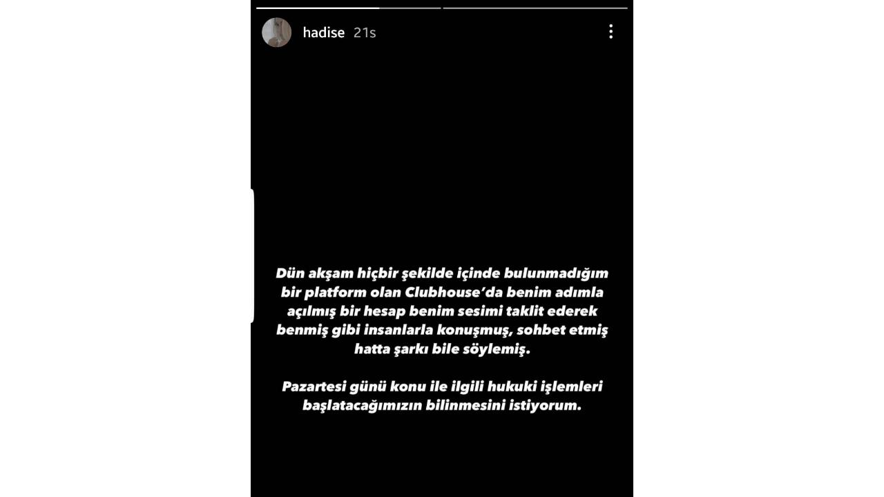hadise instagram