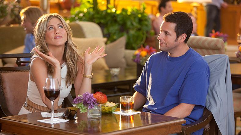 Jennifer Aniston ve Adam Sandler