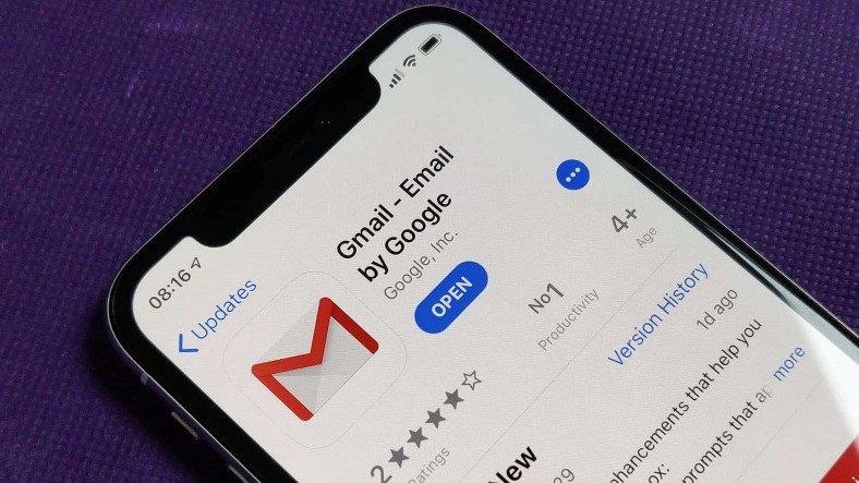 Google, Gmail'in iOS Uygulamasını 3 Ay Sonra İlk Kez Güncelledi