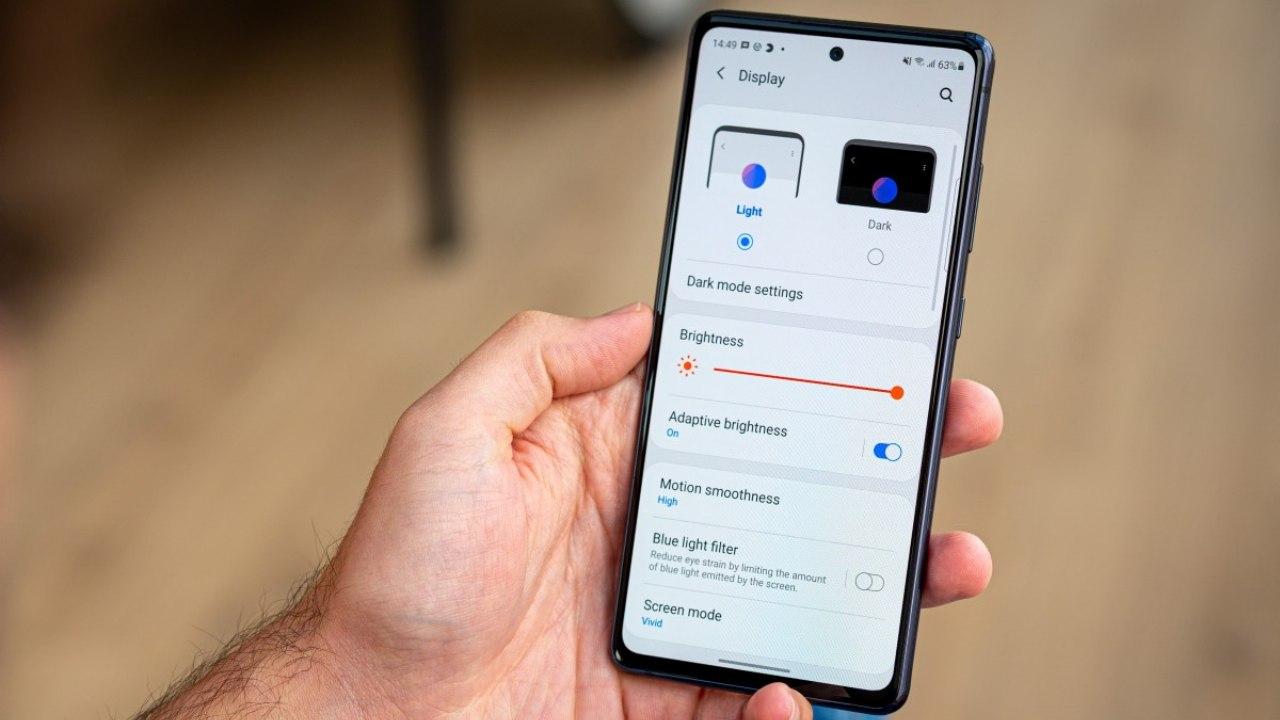 Galaxy S20 FE ekran