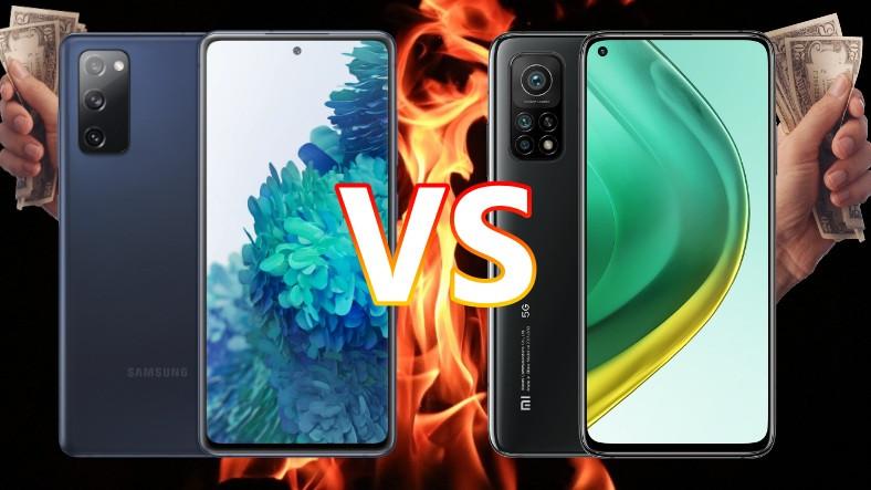Hangisini Satın Almak Daha Mantıklı? Samsung Galaxy S20 FE ile Xiaomi Mi 10T'yi Karşılaştırdık