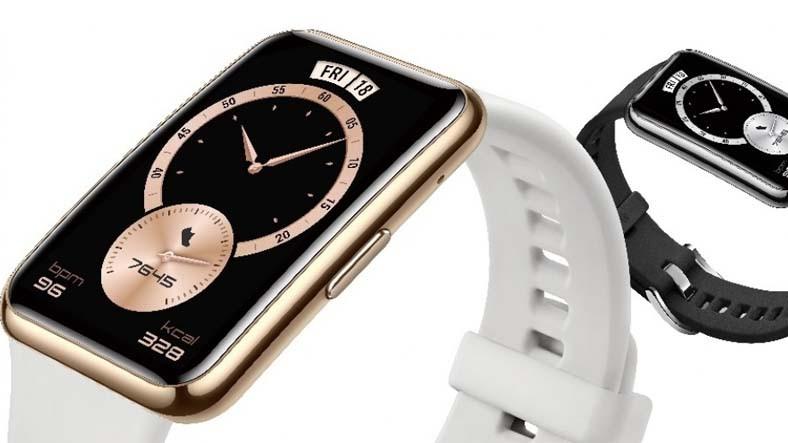 Huawei, Özelliklerine Göre Fiyatı Yüksek Gibi Görünen Akıllı Bilekliği 'Watch Fit Elegant'ı Duyurdu