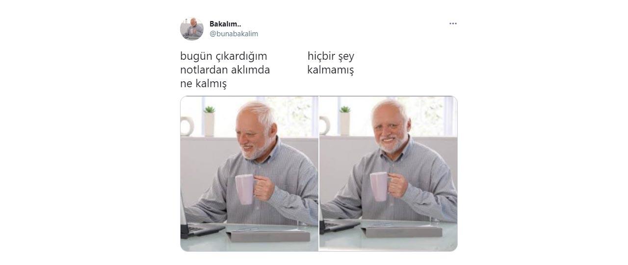 Laptoplu yaşlı adam