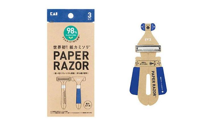 Kai, Dünyanın İlk Tek Kullanımlık 'Kağıt' Tıraş Bıçağını Geliştirdi
