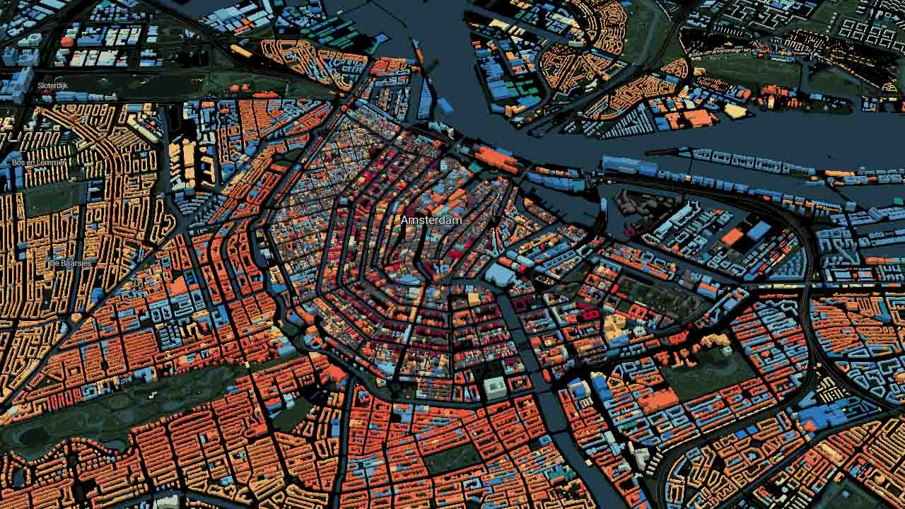 Amsterdam harita