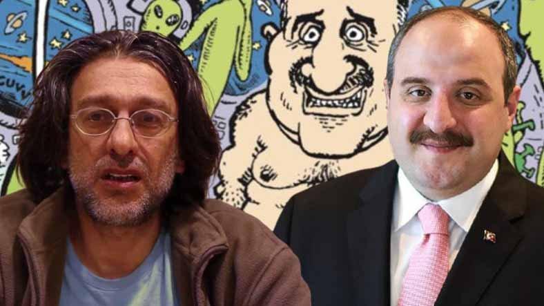 LeMan Karikatüristi Tuncay Akgün ile Bakan Varank Arasında 'Uzay' Atışması