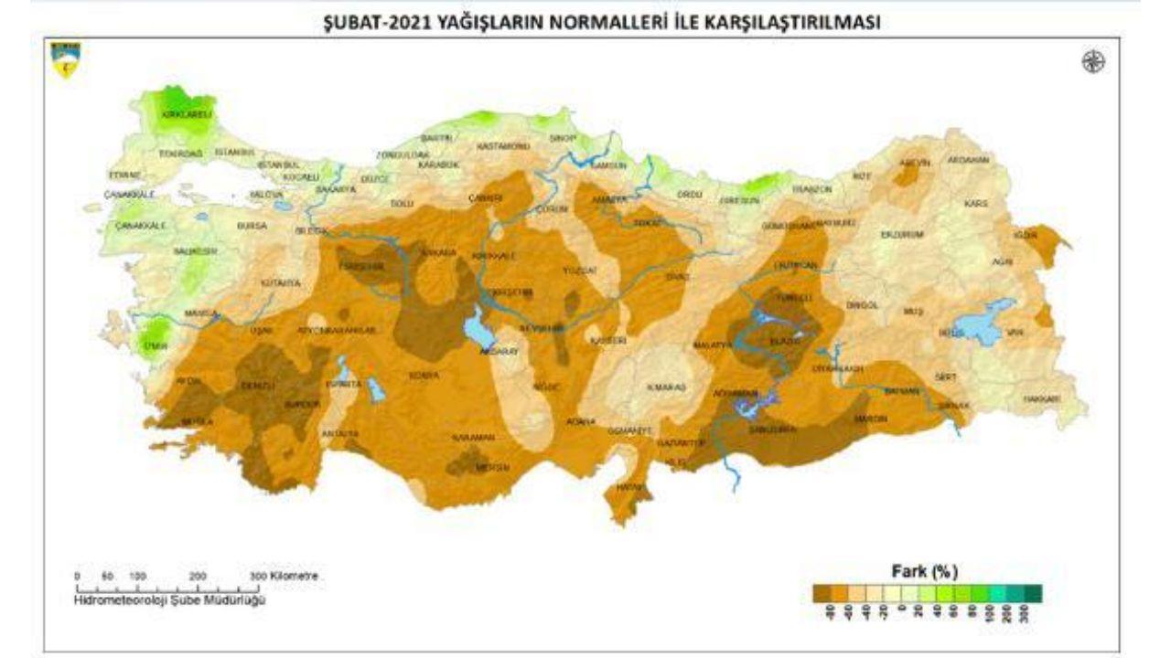 türkiye sıcaklık ortalama haritası