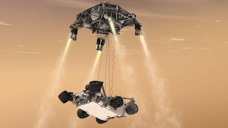 NASA'nın Mars'a İndirdiği Perseverance, Gücünü 90'lı Yıllardan Kalma İşlemciden Alıyormuş