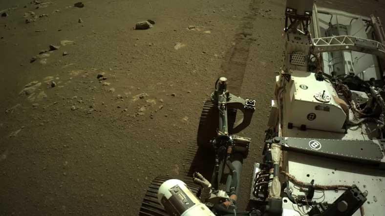 NASA, Perseverance'ın Mars'ta Hareket Ederken Çıkardığı Korkutucu Sesleri Paylaştı [Video]