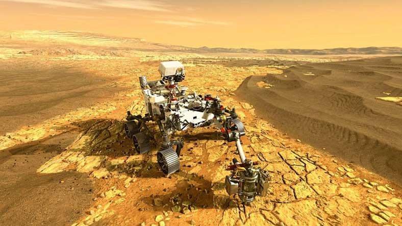 NASA, Perseverance'ın Mars'tan Gönderdiği Yeni Ses Kayıtlarını Paylaştı