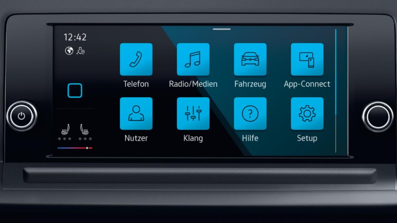 Volkswagen Caddy multimedya
