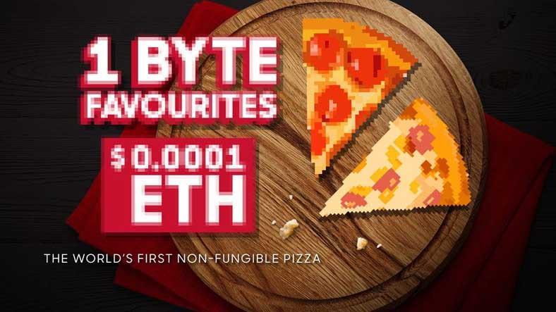 Pizza Hut da NFT İşine Girdi: İlk NFT, 5 Ethereum'a Satıldı