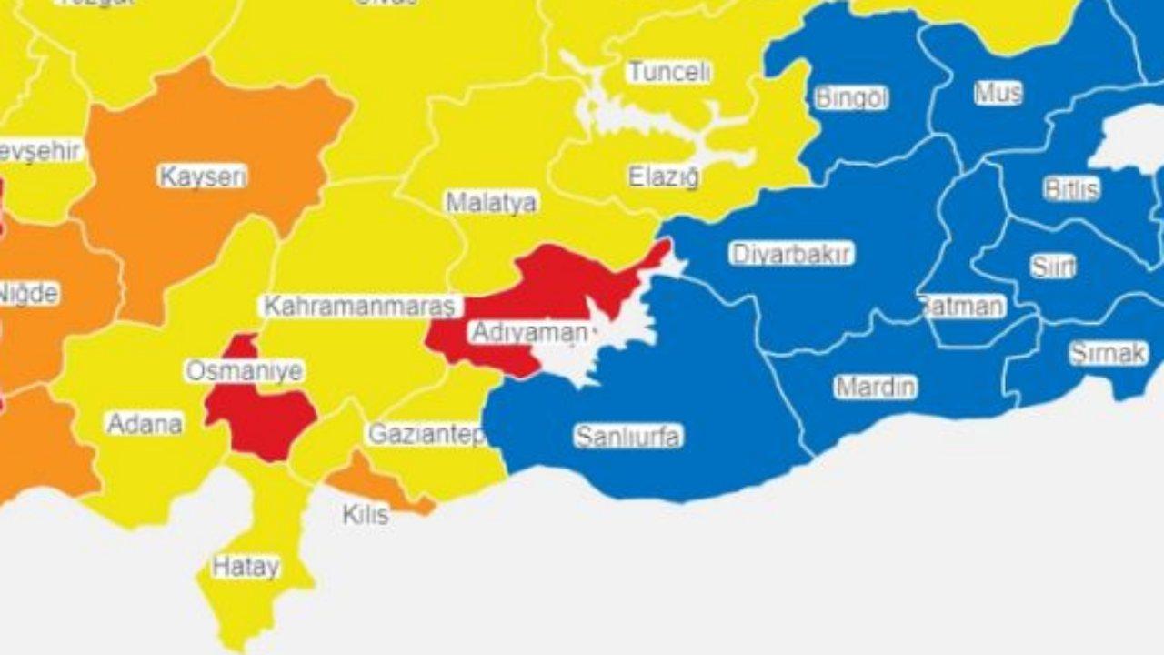 doğu risk haritası