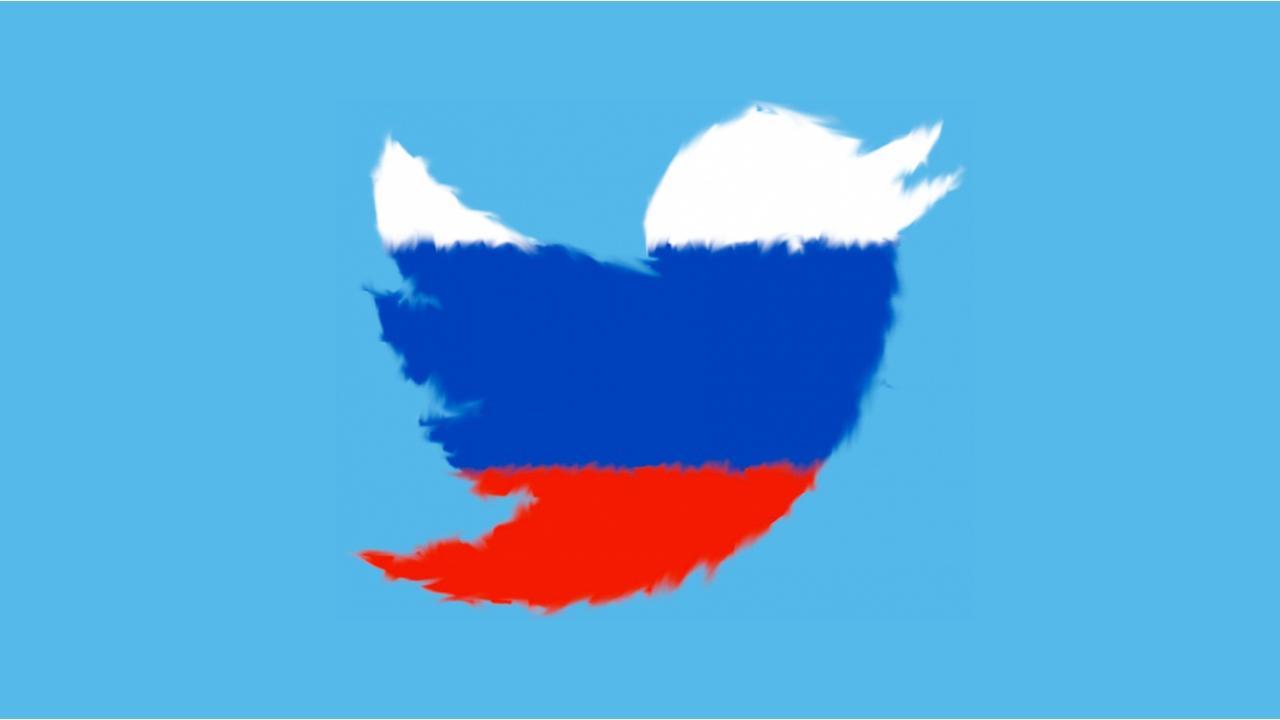 twitter rusya