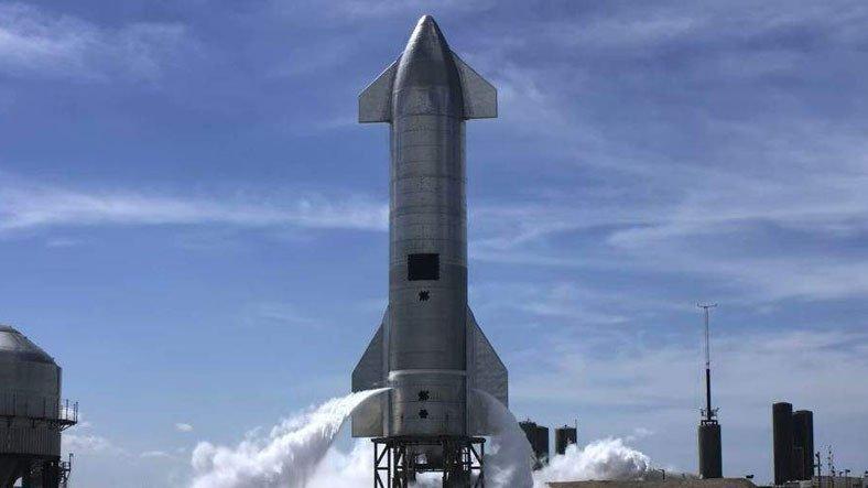 SpaceX, Bir Starship Prototipini Daha 'Patlattığı' Başarılı Bir Test Uçuşu Gerçekleştirdi [Video]