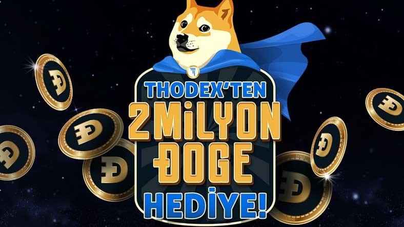 THODEX, Her Katılımcının 150 Adet Dogecoin Kazanacağı Bir Kampanya Başlattı