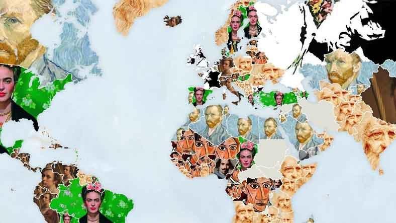 Türkiye'de ve Dünya Genelinde Ülkelerin Google'da En Çok Aradığı Sanatçılar Açıklandı
