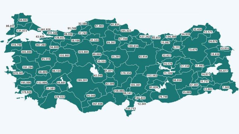 Türkiye'de Yapılan Aşı Sayısı 10 Milyonu Geçti: İşte En Fazla Aşının Yapıldığı 5 Şehir