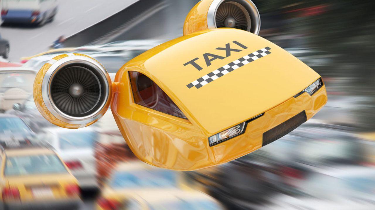 uçan taksi