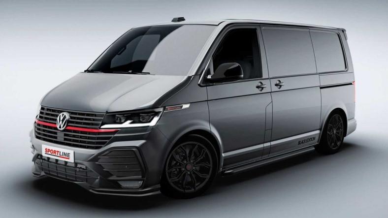 Volkswagen, Spor Otomobilleri Kıskandıran Tasarımıyla Transporter T6.1 Sportline'ı Duyurdu