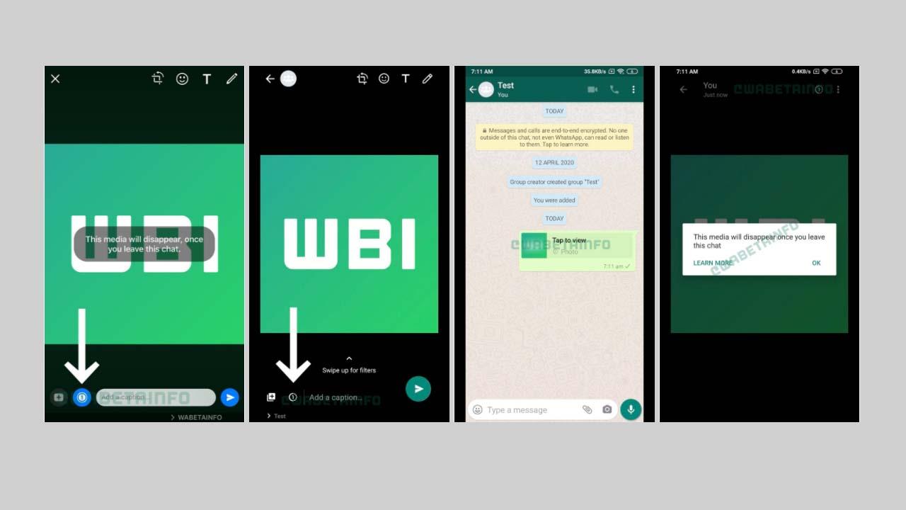 WhatsApp kaybolan fotoğraflar