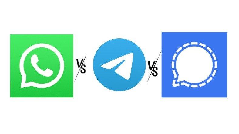 WhatsApp, Telegram ve Signal Karşılaştırması: Hangisini Kullanmalısınız?