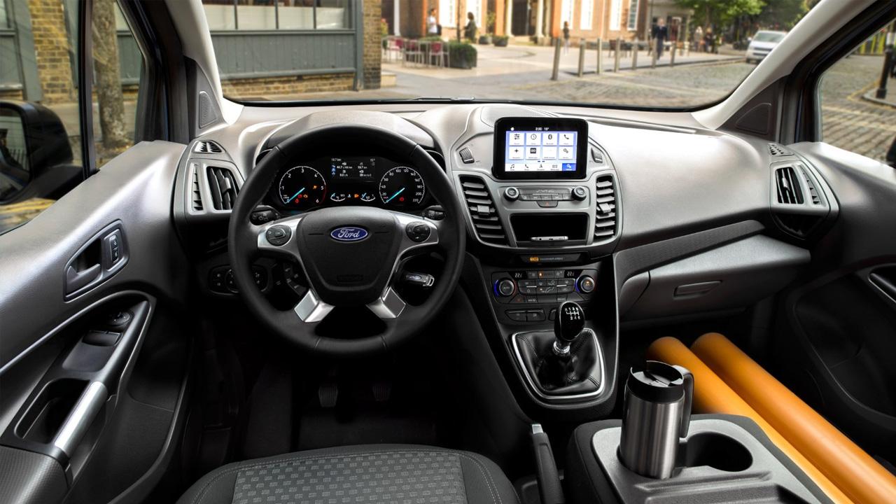 ford transit connect sürücü kabini