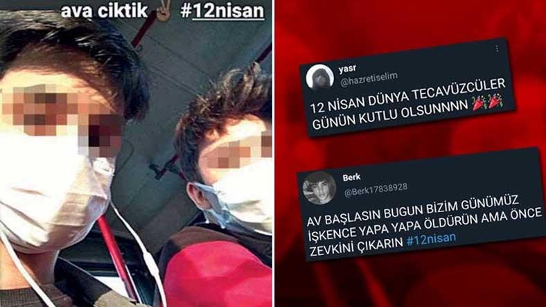 12 Nisan'daki Paylaşımları Yapan İki Kişi Yakalandı: Trend Topic Olmak İçin Yaptık