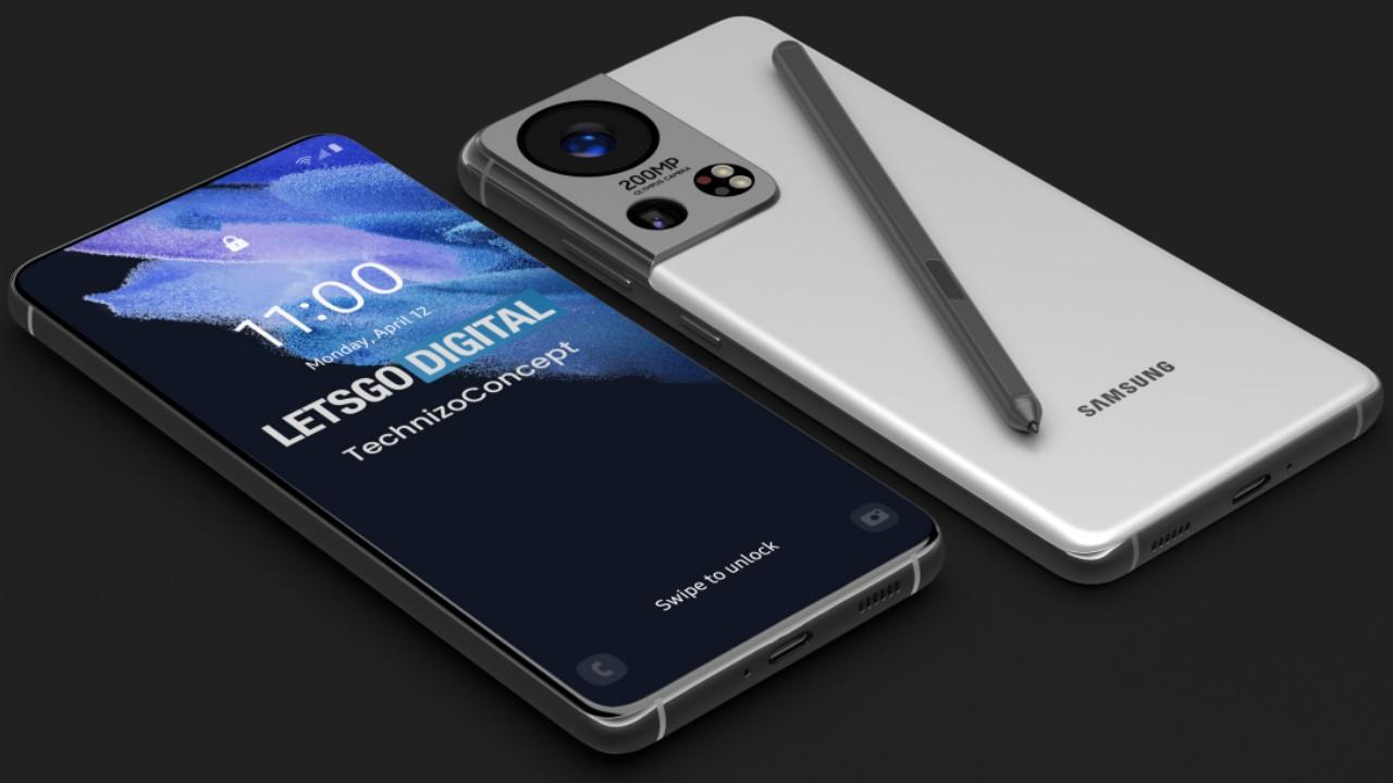 Samsung Galaxy S22 Ultra konsepti tasarım