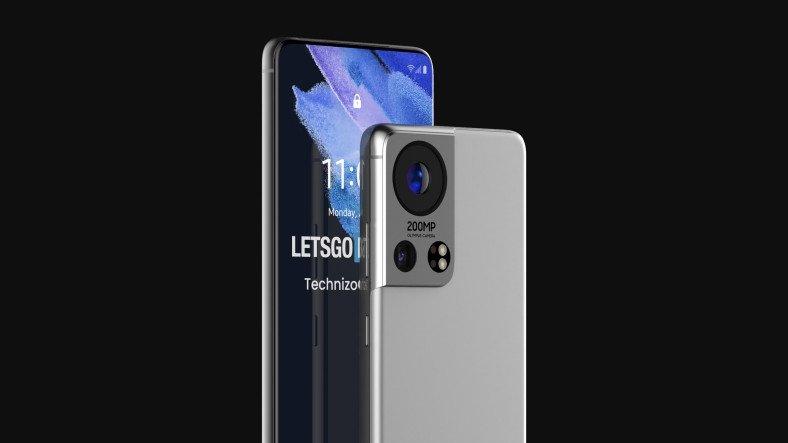 200 MP Kamerasıyla Profesyonel Makinelere Kafa Tutacak Samsung Galaxy S22 Ultra Konsepti