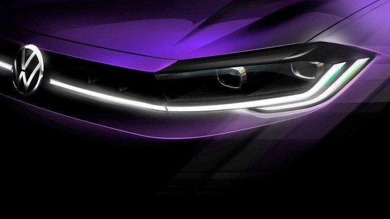 2021 Volkswagen Polo'nun Işıl Işıl Parlayan Bir Tanıtım Görseli Paylaşıldı