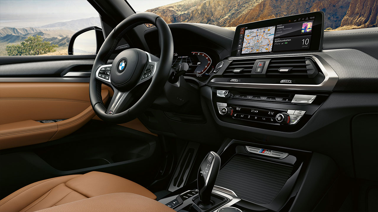 BMW X3 İç tasarım
