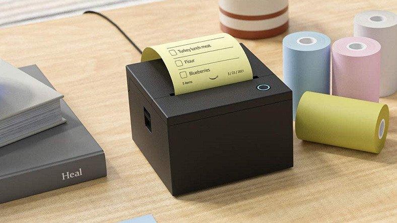 Amazon, Kendi Yapışkanlı Notlarınızı Yazdırabileceğiniz Minik Bir Yazıcı Geliştirdi