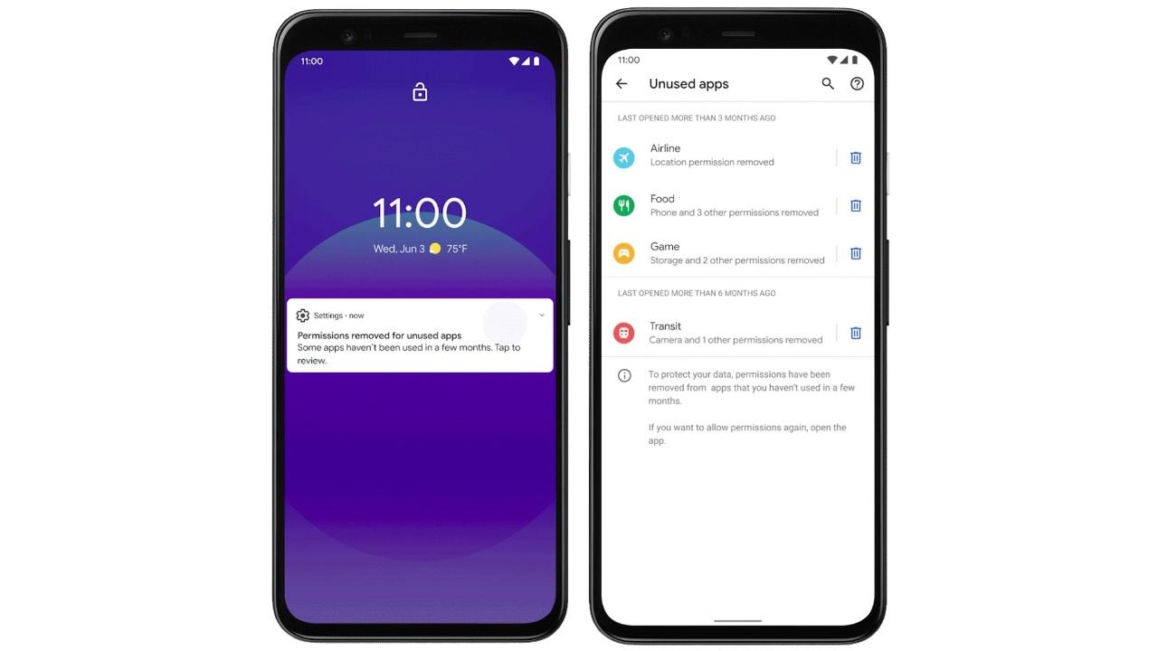 Android 12 ekran görüntüsü