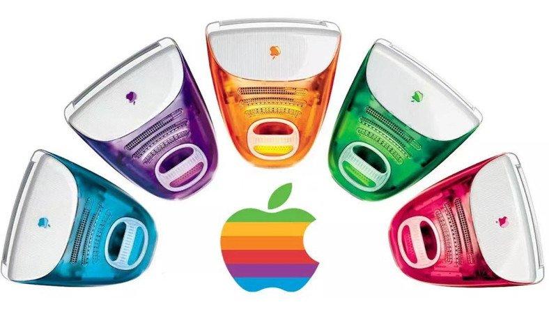 Apple'ın 2021 iMac'leri Ortaya Çıktı: Nostaljik Renk Seçenekleri Geliyor